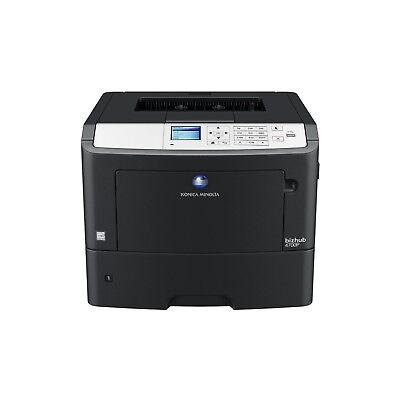 4700 Laser (konica minolta bizhub 4700P Laser printer with Toner Less than 10K pages)