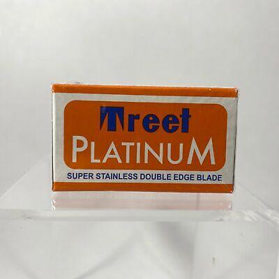 Treet Platinum Double Edge Razor Blades (10 blade pack) Treet Double Edge