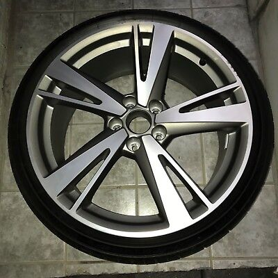 AUDI A3  S3 2016 2017 5 DOUBLE SPOKE SINGLE WHEEL w PIRELLI TIRE 25530R19 91Y