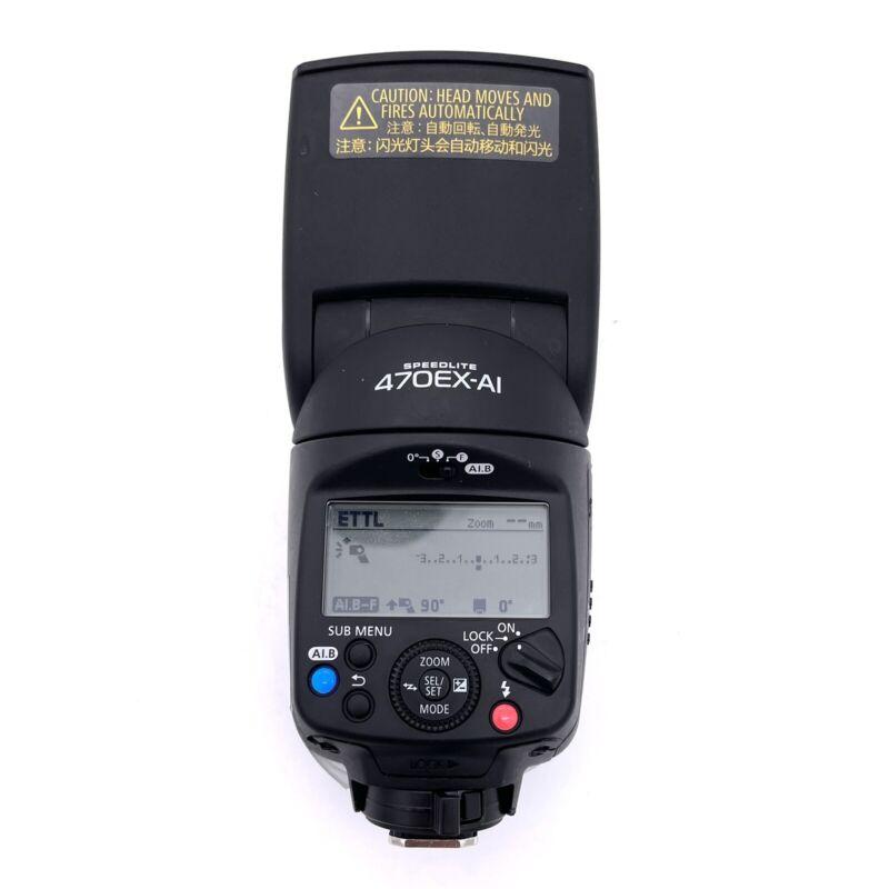 Canon Speedlite 470EX-AI Flash DS401141 - READ DESCRIPTION