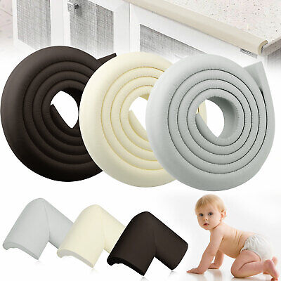 Extra Thick Baby Proofing Edge Guard Foam Protector Bumpers + 4 Corners -