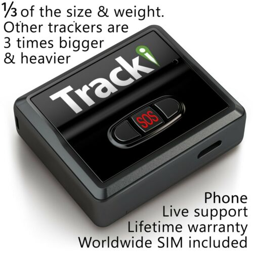 Tracki - GPS Tracker Mini Real time Hidden Dog Car Vehicles kids Tracking device