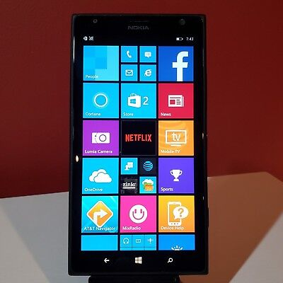"CARRIER UNLOCKED - Nokia Lumia 1520 16gb 6"" GSM refurbished Windows smartphone"