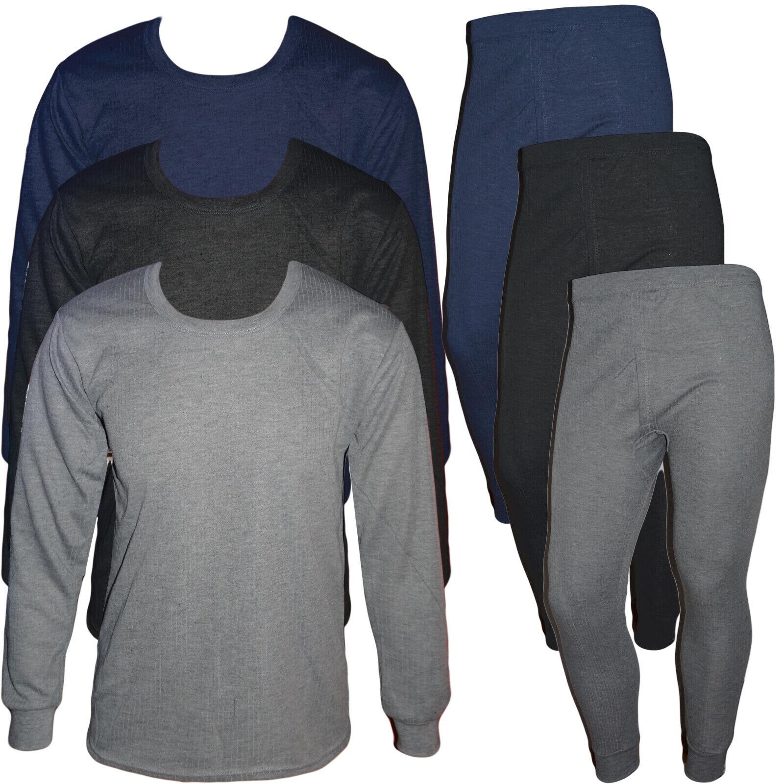 Herren Thermounterhose angeraute lange Unterhose Unterhemd Unterwäsche M-XXL