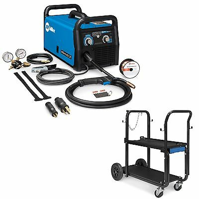 Miller Millermatic 211 MIG Welder with Advanced AS and Running Gear (951603)