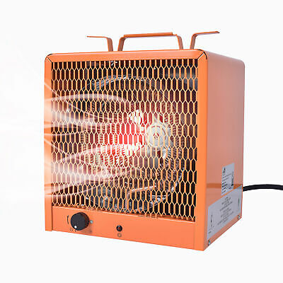 Portable Space Heater Fan warehouse Shop Utility Industrial Use 4800W/240V/60Hz