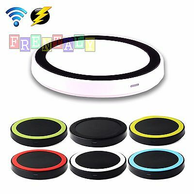 QI Wireless Battery Charger Charging Pad for Samsung Galaxy S3 S4 S5 Note 3 (Samsung Galaxy Note 3 Wireless Charging Pad)