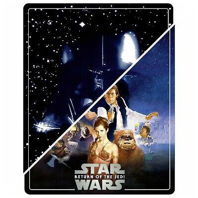 Star Wars - Empire Strikes Back & Return of the Jedi  - 4K Blu Ray Steelbooks