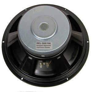 Replacement Speaker Kit for REL Q50 / Q100 / Q100E Range of Subwoofers.