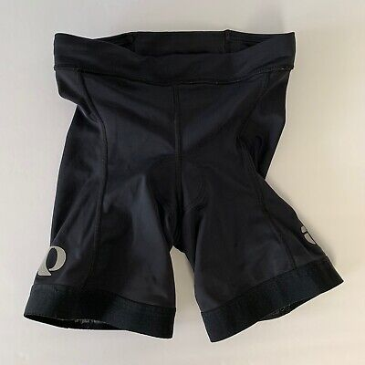 Pearl iZumi Women's S Black Padded Cycling Shorts