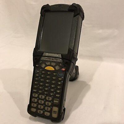 Symbol Motorola Mc9190-ga0sweqa6wr Wireless Barcode Scanner W Battery