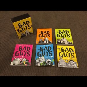 Bad guys book bundle
