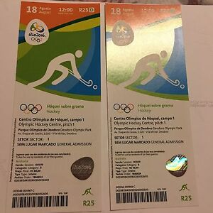 Rio Olympic Tickets - bronze medal match Kingston South Canberra Preview