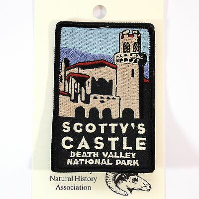 Official Death Valley National Park Souvenir Patch Scottys Castle California