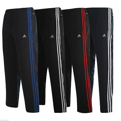 (adidas ESSENTIALS CLIMALITE TRACK PANTS BOTTOMS JOGGERS SIZE S M L XL XXL)