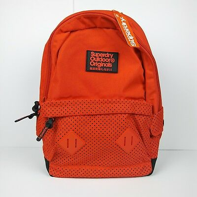 SUPERDRY Outdoor Originals Top Rider Montana Backpack Orange Black