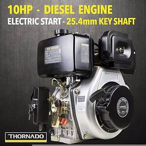 Thornado 10HP Stationary Motor DIESEL Engine 25.4mm Chipping Norton Liverpool Area Preview
