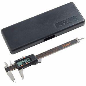 "VonHaus Digital Vernier Caliper Micrometer Tool 6"" 150mm Electronic LCD Display"