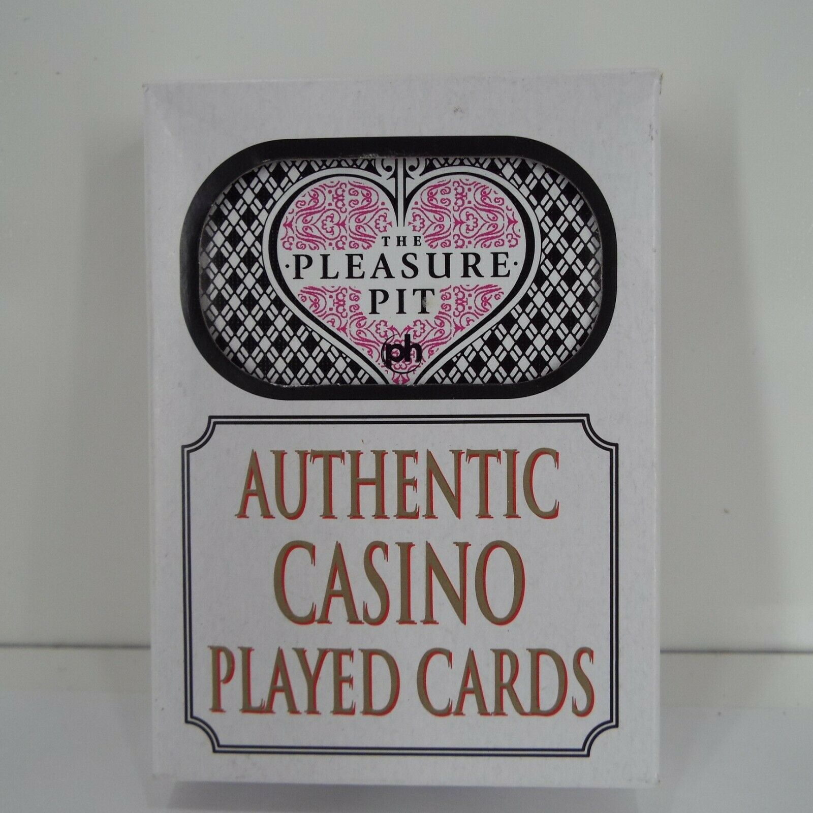 Pleasure Pit Casino Used Playing Cards Man Cave Poker Night Planet Hollywood