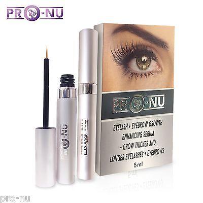 Eyelash and Eyebrow Growth Serum (5ml) - Thicker, Longer Eyelashes & Eyebrows