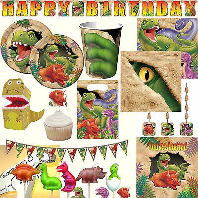 * DINOS & T-REX * - MEGA-AUSWAHL zum Kindergeburtstag Geburtstag Motto Party