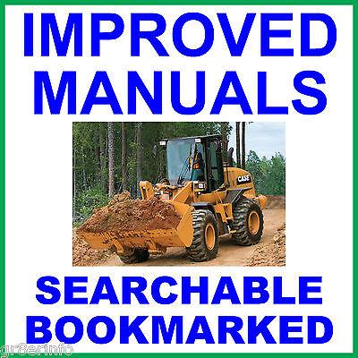 Case 580c Tractor Loader Backhoe Repair Service Manual 580 C 1981 Improved Cd