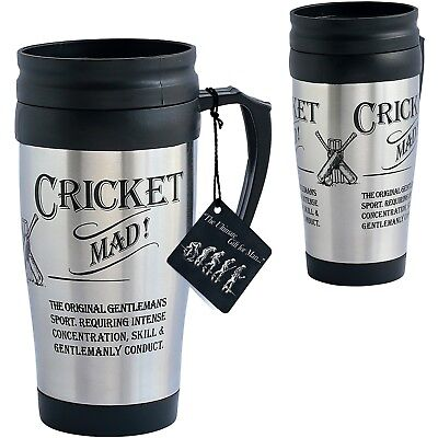 Ultimate Gift For Man 8841 Cricket Sport Travel Mug Ultimate Travel Mug