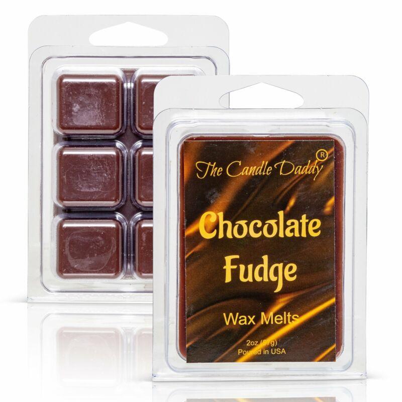 Chocolate Fudge - Rich, Warm Chocolate Scented Melt - Maximum Scent Wax Cubes/Me