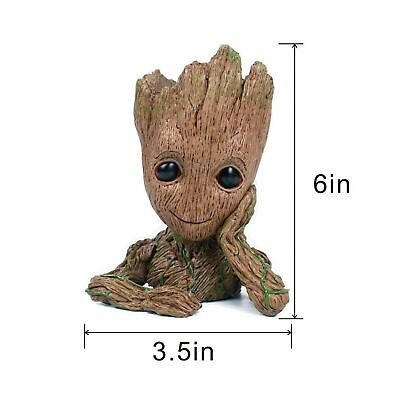 New Baby Groot Flower Pot Desk Decor Gift Idea...
