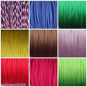 3-METRES-4MM-POLYESTER-CORD-PIPING-CORD-ASSORTED-COLOURS
