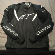 Alpinestars GP R Black/White Leather Jacket Cabarita Canada Bay Area Preview