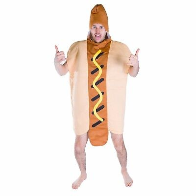 Halloween Drinks Adults (Adult Funny Hot Dog Bun Food Drink Mascot Costume Outfit Suit Halloween One)