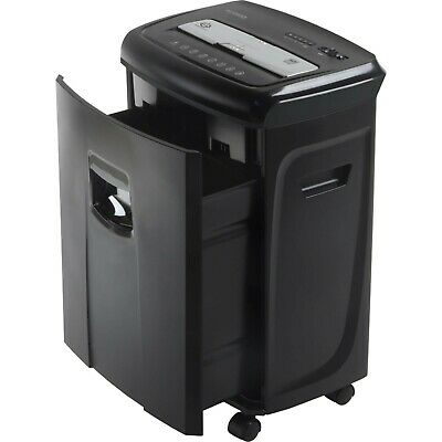 Industrial Paper Credit Card Shredder 12-sheet Crosscut Auto-on Start Commercial