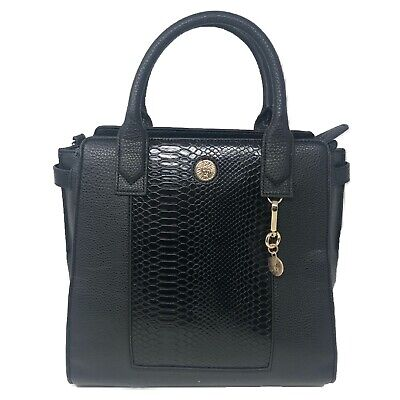 Anne Klein Satchel Handbag, Black