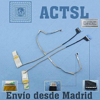 Cable de Video LCD Flex para ACER Aspire 4750