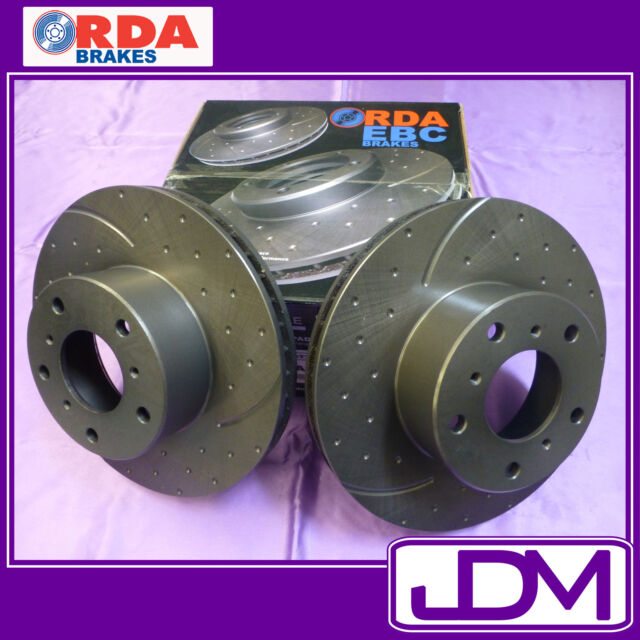 TOYOTA COROLLA ZRE 150 151 152 153 182 (7/2007 on) - Rear SLOTTED Brake Rotors