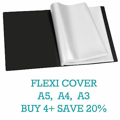Flexicover A5a4a3 Display Book Presentation Folder Business Portfolios Tiger
