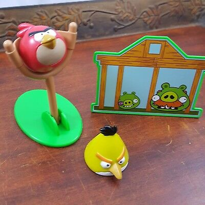 Angry Birds Cake Topper Birthday party kit Bakery Crafts toy