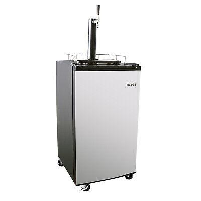 Draft Beer Kegerator Keg Dispenser Compressor Cooler Co2 Can Single-tap 3.4 Cuft