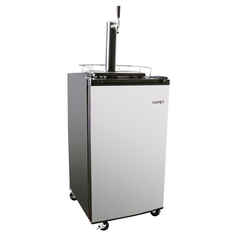 Kegerator Draft Brew Beer Dispenser Cooling Refrigerator Single Faucet 3.4 Cu Ft
