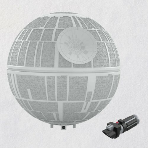 Star Wars: A New Hope Collection Death Star Musical Tree Topper With Light