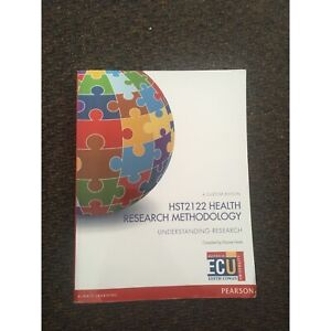 ECU Health Research Methodology Textbook Connolly Joondalup Area Preview