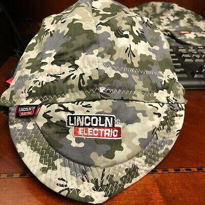 Lincoln Electric Welding Cap- Grey Camo