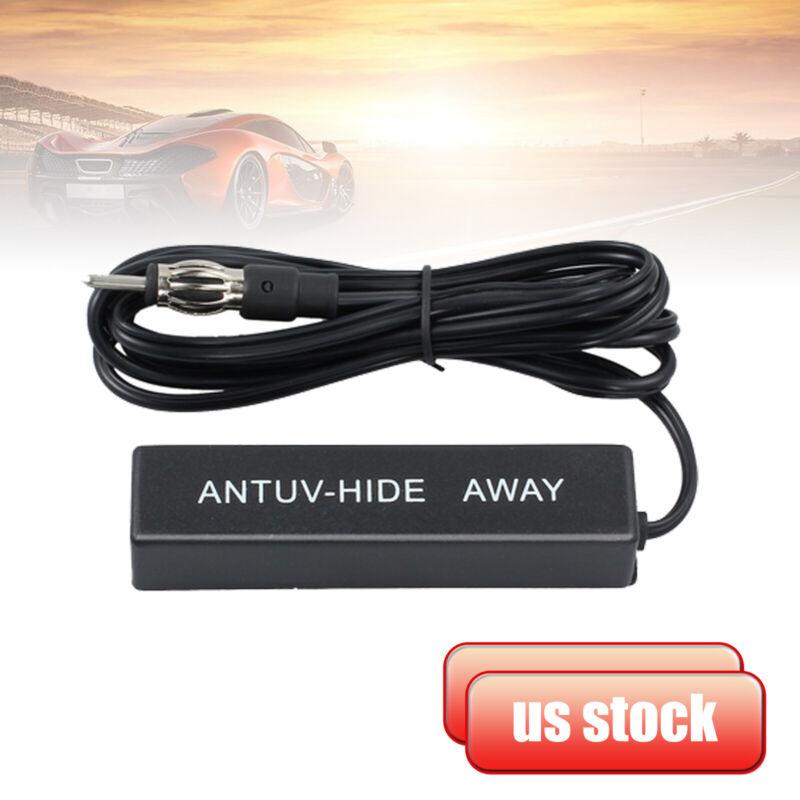 Universal Car Hidden Amplified Antenna Kit 12V Electronic Stereo AM/FM Radio New