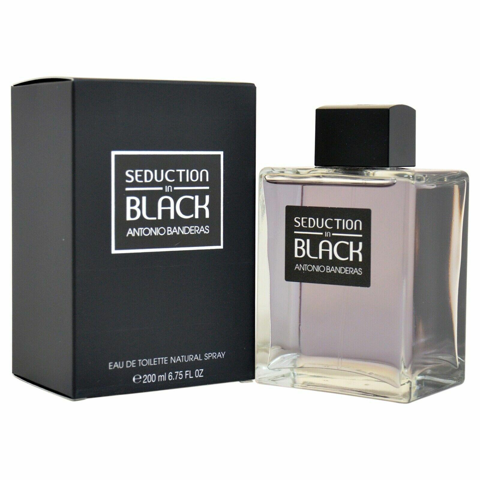 Detalles de Seduction en Negro Por Antonio Banderas EDT Spray 198ml