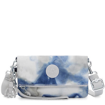 Kipling Lynne 3-in-1 Printed Convertible Crossbody Bag Tie Dye Blue