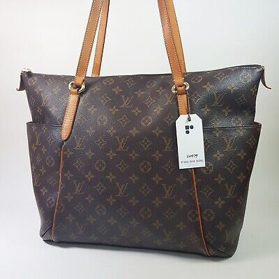 Auth Louis Vuitton Totally GM Monogram M56690 Shoulder Tote Bag Guaranteed LC479