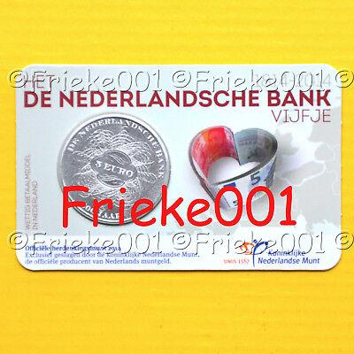 Nederland - Pays-Bas - 5 euro 2014 in blister.(200 jaar nederlandse bank)