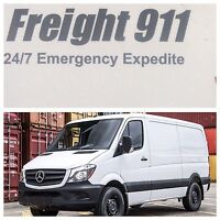 Freight 911 Transport specializes in small long distance P&D