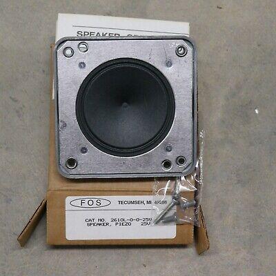 Fos 2610l 25v Speaker Piezo 25 Volt Fire Alarm
